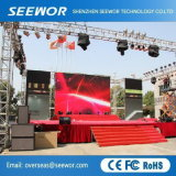 High Brightness P4.8mm Die-Casting Aluminum Outdoor LED Display for Rental