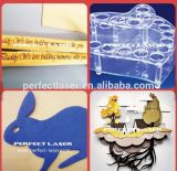 Acrylholz 100W MDF-Plexiglas-Laser-Scherblock-Maschinen