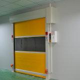 Porte coulissante de roulement de porte de PVC de porte à grande vitesse industrielle de roulement