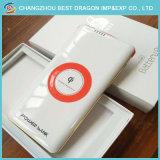 10000mAh de draadloze Achter Mobiele Macht van de Lader van de Batterij van de Klem voor iPhone