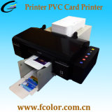 Imprimante automatique de carte de PVC de jet d'encre pour la carte de 100 PCS et la machine d'impression CD de 50 PCS