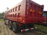 재고 HOWO 6X4 2105에서 2017년까지 제조 년을%s 가진 25 톤 덤프 트럭