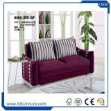 Möbel-Wohnzimmer-Sofa-neues ledernes Sofa-geschnittenbett mit Speicherung