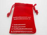 Petite bourse de cadeau de cordon de velours, poche de bourrage (GZHY-dB-003)