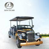 Тележка гольфа электрического автомобиля тележки сбор винограда 8 мест классицистическая
