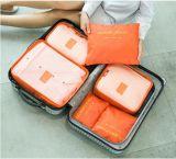Conjuntos del bolso seises del almacenaje para el viaje