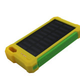 Banco de alimentação do carregador portátil solar com Luz de Flash (Y19/10000mAh/8000mAh/6000mAh)