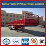 60 toneladas del cargo de acoplado utilitario de la pared lateral semi