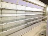 Estante de cristal de la tarjeta del estante de visualización de la loción del estante de los cosméticos del supermercado