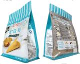 Полиэтиленовые пакеты уплотнения квада мешка плоского дна раговорного жанра