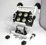 Magnetisches LED-Aufgabe-Licht mit weißem Aluminiumdeckel