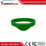 Braccialetto/Wristband impermeabili personalizzati del silicone di RFID con Mf1 S70