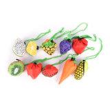 Mooi Fruit die het Winkelen van het Gemak de Opnieuw te gebruiken Handtas vouwen die van de Zak Zak 60 X 38cm vouwen van de Opslag van de Reis van Zakken