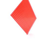 Panneau de PC creux transparent de panneau de polycarbonate de feuille