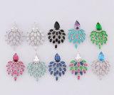Juwelen van de Toebehoren van de Vrouwen van de Juwelen van het Kristal van de kwaliteit de Vastgestelde Witgoud Geplateerde