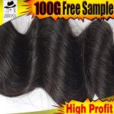 Уток волос черного цвета бразильский от Kabeilu