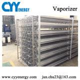 El nitrógeno oxígeno líquido de alta presión de gas argón ambiente vaporizador