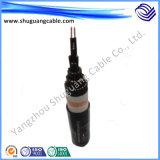 Wdzn-Yjy23 XLPE isolou a flama blindada Sheathed PE do fio de aço - cabo distribuidor de corrente retardador