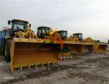 يستعمل بناء آلة هيدروليّة أماميّة محمّل قطة [966ه] عجلة محمّل في شنغهاي