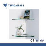 6/8/10mm étagère en verre haute qualité / des étagères en verre trempé pour la salle de bains d'étagères