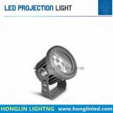 Projecteur extérieur de lumière de jardin de l'éclairage 12W IP65 DEL de DEL pour l'horizontal