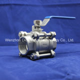 Class 150 Female Stainless Steel Floating Ball Valve