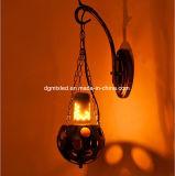 Bulbo de cintilação da flama do diodo emissor de luz, bulbo creativo do incêndio da flama do bulbo E26/E27 da decoração
