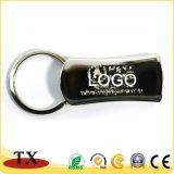 Печать логотипа индивидуальные прямоугольник металлического держателя ключа