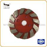 Red Velcro Bond Diamond meulage de la plaque de métal # pour le béton, l'étage.