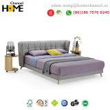 2018ホーム家具(HC-E858A)のための現代方法および贅沢ファブリックベッド