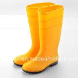 Proteção de borracha industrial Gumboots Botas de chuva de PVC em GUANGZHOU