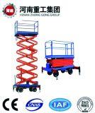 CE/SGS Bescheinigungs-hydraulischer mobiler Schlussteil Scissor Mann-Aufzug-Plattform