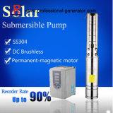 24V DC agrícola solares sumergibles bombas de agua