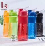 BPA освобождают пластичную бутылку Shake порошка протеина с шариком Stainle стальным