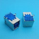 Verbinder des b-Lötmittel-Doppeltes USB-Weibchen-schreiben 3.0