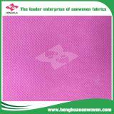 Tela no tejida de los PP/tela material del Nonwoven del polipropileno 10-250GSM de los bolsos