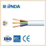 sqmm flexível de cobre do núcleo 1.5 do cabo elétrico 5