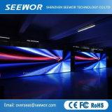 Un contraste élevé P4.8mm Affichage LED intérieure pour la location