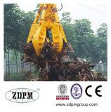 Elektromotor-hydraulische orange Schalen-Zupacken-Wanne