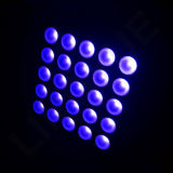 DJ 25X10W LED 단계 매트릭스 곁눈 가리개 빛
