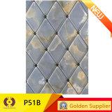 Azulejo esmaltado de la pared del material de construcción de la baldosa cerámica (P55A)