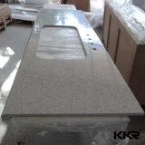 La isla de cocina personalizados Kingkonree superficie sólida sobre la encimera de cocina (180125)