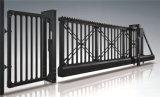 Top-Quality luxueux de la sécurité extérieure de porte coulissante clôture en fer forgé