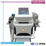셀룰라이트 장치 Lipolaser +Cavitation+Multi 극지 RF 바디 모양 계기를 체중을 줄이기