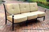 Mobilia classica della fusion d'alluminio del sofà del giardino di comodità (ammortizzatore beige)