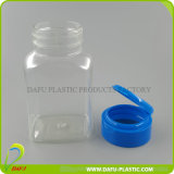 El plástico PET clara cápsula oblonga Botella 120 ml