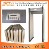 Прогулка детектора металла обеспеченностью проверки Secugate 550m франтовская через детектор металла