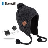 Populärer lederner Änderung am Objektprogramm2019 knit-Musik-Hut-Kopfhörer Bluetooth Beanie