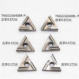 CNC van het Bedrijf van Toshiba Hulpmiddelen (WNMG080404 TNGG160402) voor Scherpe Verwerking