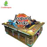 Jogo de tabela dos peixes da batida do leopardo da máquina de jogo do caçador dos peixes da arcada do casino para a venda